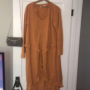 colored dress from nasty gal never worn
